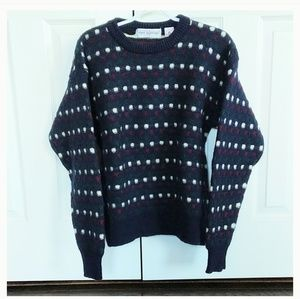 Vintage John Ashford 100 percent wool sweater